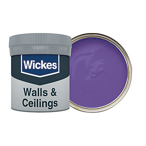 Wickes Purple Passion - No. 720 Vinyl Matt Emulsion Paint Tester Pot - 50ml