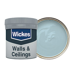 Wickes Rock Pool - No. 225 Vinyl Matt Emulsion Paint Tester Pot - 50ml