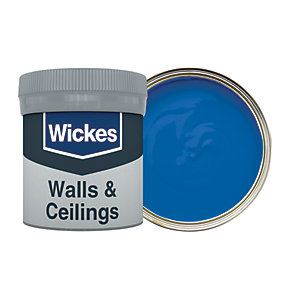 Wickes Sapphire - No. 950 Vinyl Matt Emulsion Paint Tester Pot - 50ml