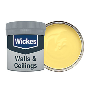 Wickes Sunbeam - No. 510 Vinyl Matt Emulsion Paint Tester Pot - 50ml