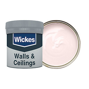 Wickes Blush - No. 600 Vinyl Matt Emulsion Paint Tester Pot - 50ml