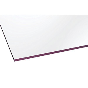 Marlon Fsx 4mm Solid Polycarbonate Clear Sheet 2500 x 500mm