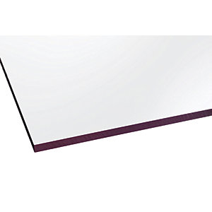 Marlon Fsx 6mm Solid Polycarbonate Clear Sheet 2500 x 500mm