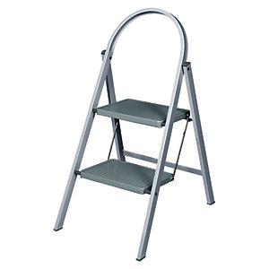 Image of Abru 2 Step Handy Stepstool - Grey