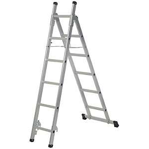 Werner 3 in 1 Aluminium Combination Ladder