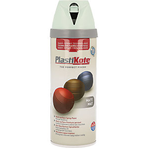 Plastikote Multi-surface Spray Paint - Matt Duck Egg Blue 400ml
