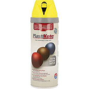 Plastikote Multi-surface Spray Paint - Satin Lime Green 400ml