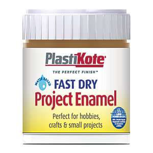 Plastikote Fast Dry Brush On Enamel - Nut Brown 59ml