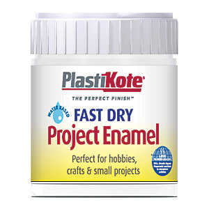 Plastikote Fast Dry Brush On Enamel - Clear 59ml