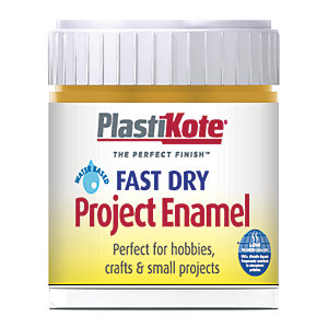 Plastikote Fast Dry Brush On Enamel - Brass 59ml