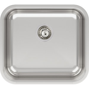 Abode Melbourne 1 Bowl Stainless Steel Kitchen Sink