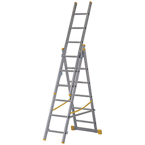 Werner ExtensionPLUS X4 3.78m Aluminium Combination Ladder