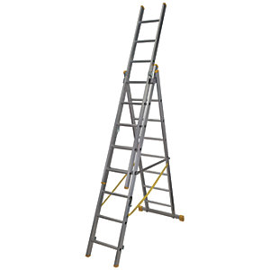Werner ExtensionPLUS X4 5.18m Aluminium Combination Ladder