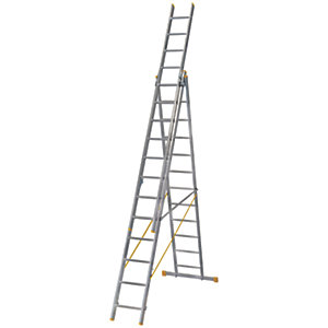 Werner ExtensionPLUS X4 8.54m Aluminium Combination Ladder