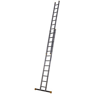 Werner Professional 6.28m 2 Section Aluminium Extension Ladder