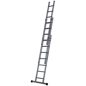 Werner Professional 4.83m 3 Section Aluminium Extension Ladder