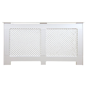 Wickes Derwent Medium Radiator Cover White - 1520 mm