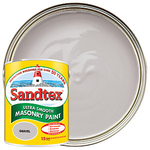 Sandtex Ultra Smooth Masonry Paint - Gravel 5L