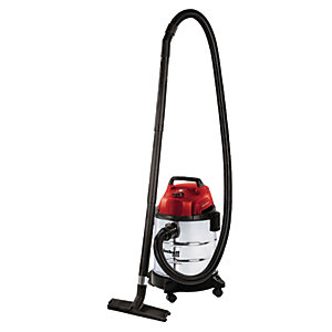 Einhell TC-VC 1820S 20 Litre Stainless Steel Wet & Dry Vacuum - 1250W