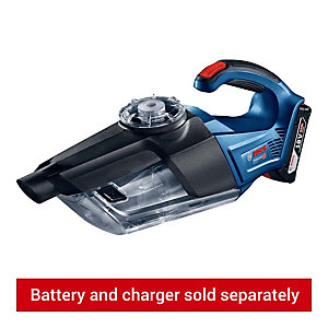 Bosch Professional GAS 18 V-1 Cordless Dry Vacuum Cleaner - Bare