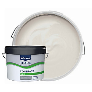 Wickes Trade Contract Silk Emulsion Shadow Grey 10L