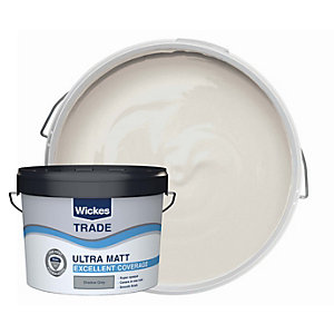 Wickes Trade Ultra Matt Shadow Grey 10l