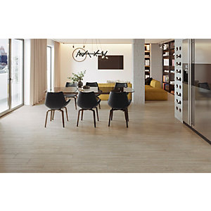 Wickes Kielder Light Oak Wood Effect Porcelain Wall & Floor Tile - 900 x 150mm