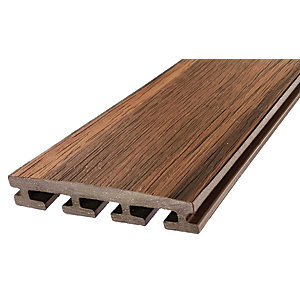Eva-Last Tiger Cove Composite Infinity Deck Board - 25.4 x 135 x 2200mm - Pack of 5