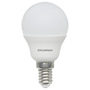 Sylvania LED Frosted E14 Mini-Globe Bulb - 5W Pack of 4