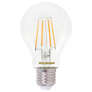 Sylvania LED Filament E27 GLS Bulb - 7W Pack Of 4