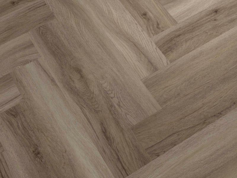Herringbone Honey Oak Luxury Vinyl Flooring
