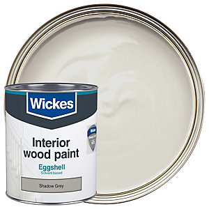 Wickes Eggshell Shadow Grey 750ml