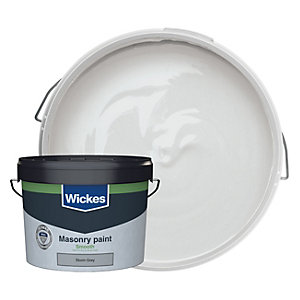 Wickes Masonry Smooth Storm Grey 10L