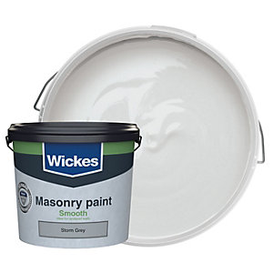 Wickes Masonry Smooth Storm Grey 5L