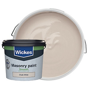 Wickes Masonry Smooth Chalk White 5L
