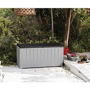 Keter Novel Deluxe Outdoor Storage Deck Box - Graphite