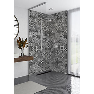 Mermaid Elite Abuzzo Tongue & Groove Single Shower Panel
