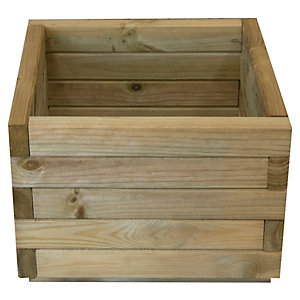 Forest Garden Square Planter 400 x 400 x 280mm