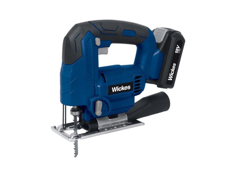 Wickes Cordless 18V Li-ion Jigsaw 1x2.0Ah