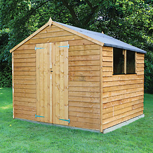 Mercia 8 x 8 ft Overlap Apex Shed