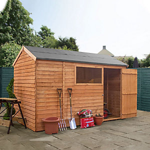 Mercia 10 x 6ft Overlap Reverse Apex Shed