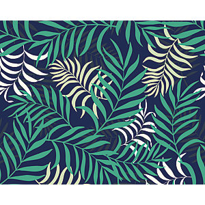 ohpopsi Exotic Jungle Leaves Wall Mural