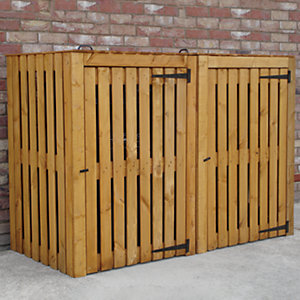 Shire Double bin store 3x6ft