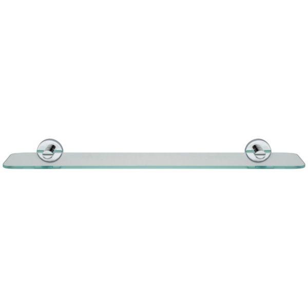 Croydex Flexi Fix Metra Glass Shelf