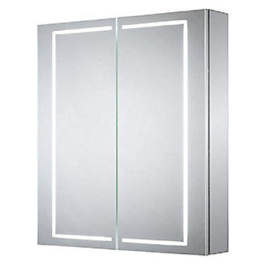 Wickes Adelaide Diffused LED Double Door Bathroom Cabinet