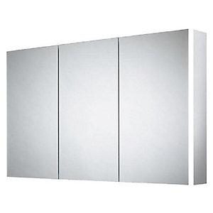 Wickes Grantham Bluetooth LED Triple Door Bathroom Mirror Cabinet