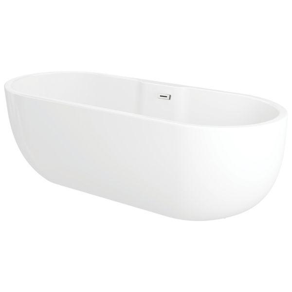 Oval Freestanding Contemporary Bath - 1800 X 750mm