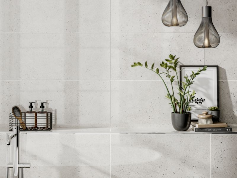 Rockford White Glazed Porcelain Tile
