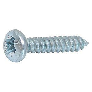 Wickes Self Tapping Screws - No 10 X 23mm Pack Of 50