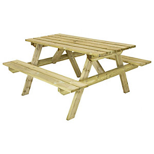 Charles Bentley FSC Timber Economy Picnic Table